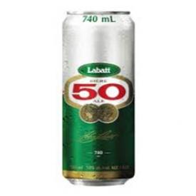 Bière Labatt 50 5%alc Canette 740 mL