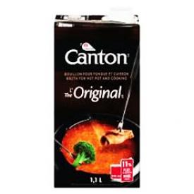 Canton Bouillon pour Fondue et Cuisson L'original 1,1L