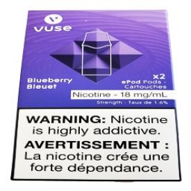 Cartouches 2x Saveur:Bleuet 1.6% de Nicotine