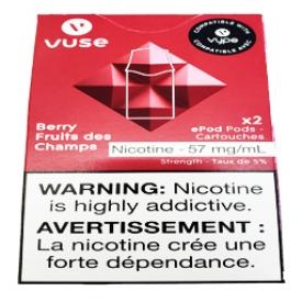 Cartouches 2x Saveur:Fruits des Champs 5% de Nicotine