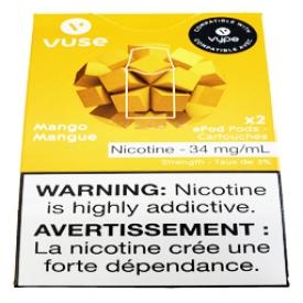 Cartouches 2x Saveur:Mangue 3% de Nicotine