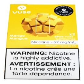 Cartouches 2x Saveur:Mangue 5% de Nicotine