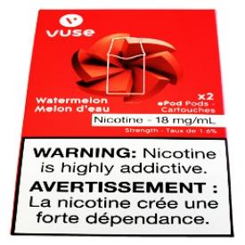 Cartouches 2x Saveur:Melon d'eau 1.6% de Nicotine