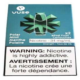 Cartouches 2x Saveur:Menthe Polaire 3% de Nicotine