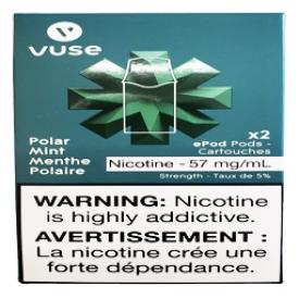 Cartouches 2x Saveur:Menthe Polaire 5% de Nicotine