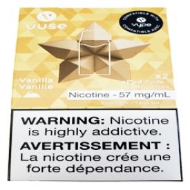 Cartouches 2x Saveur:Vanille 5% de Nicotine