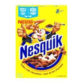 Céréale Nesquik pour du Lait Chocolaté 340 mL