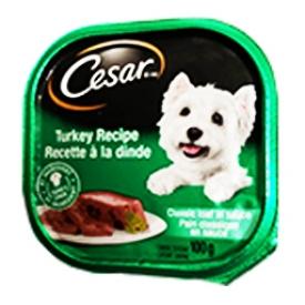 Cesar Nourriture pour Chien Recette à la Dinde 100g