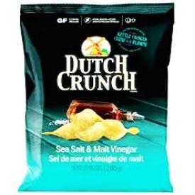 Chips Dutch Crunch Sel de Mer et Vinaigre de Malt 200g