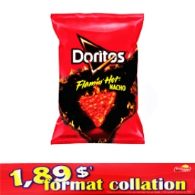 Chips Format Collation Doritos Emflammé Nacho 70g