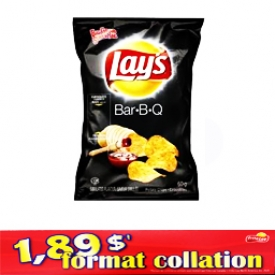 Chips Format Collation Lays BBQ 66g