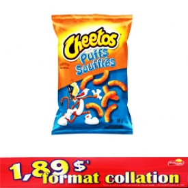 Chips Format Collation Puffs Soufflés 84g