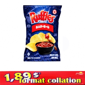 Chips Format Collation Ruffles BBQ 66g