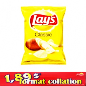 Chips Format Collation Lays Classic 66g
