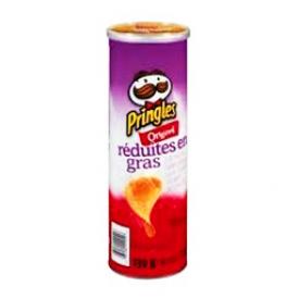 Chips Pringles Original Réduite en Gras