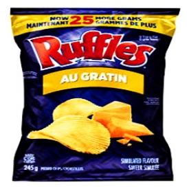 Chips Ruffles Au Gratin 220g
