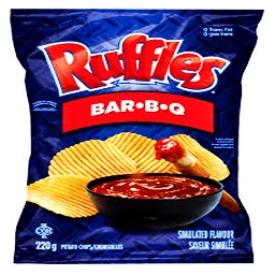Chips Ruffles BBQ 220g