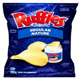 Chips Ruffles Nature 220g