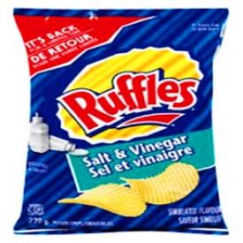 Chips Ruffles Sel et Vinaigre 220g