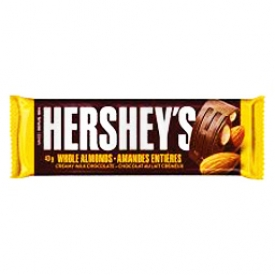 Chocolat Barre Hershey's Amandes
