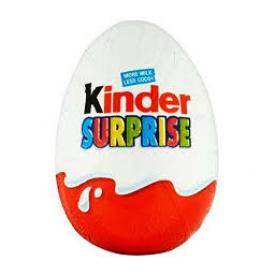 Chocolat Kinder Surprise Oeuf