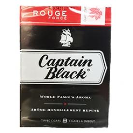 Cigarette Capitain Black Rouge Foncé