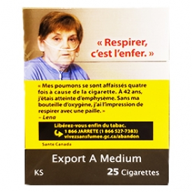Cigarette Export A Medium KS 25