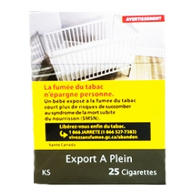 Cigarette Export A Plein KS 25