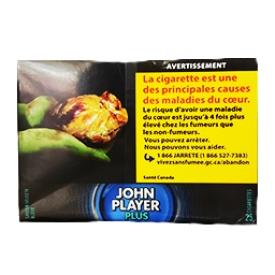 Cigarette John Player Plus Pleine Saveur Bleu RS 25