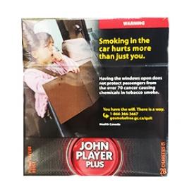 Cigarette John Player Plus Pleine Saveur Rouge KS 20