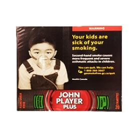 Cigarette John Player Plus Pleine Saveur Rouge RS 20