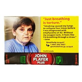 Cigarette John Player Plus Pleine Saveur Rouge RS 25