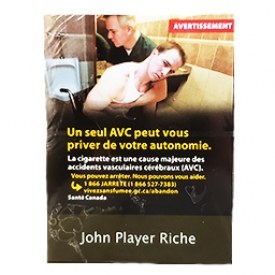 Cigarette John Player Riche KS 25