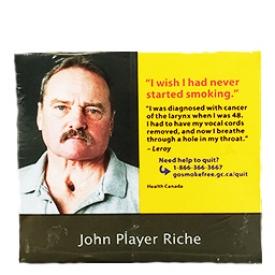 Cigarette John Player Riche RS 20