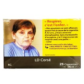 Cigarette LD Corsé RS Paquet Duo 2X25=50