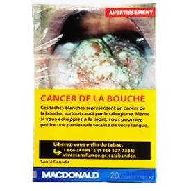 Cigarette Macdonald KS 20