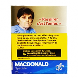 Cigarette Macdonald KS 25