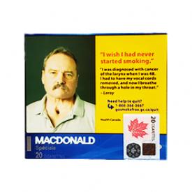 Cigarette Macdonald RS 20