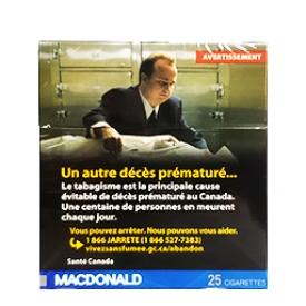 Cigarette Macdonald RS 25