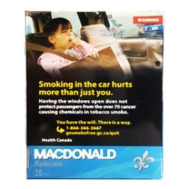 Cigarette Macdonald Riche KS 25