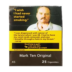 Cigarette Mark Ten Originale KS 25