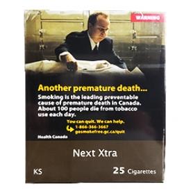 Cigarette Next Xtra KS Paquet Duo 2X25=50