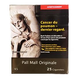 Cigarette Pall Mall Originale KS 25
