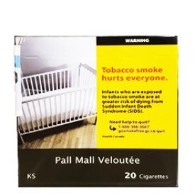 Cigarette Pall Mall Veloutée KS 20