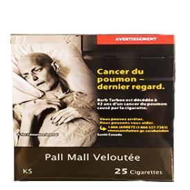 Cigarette Pall Mall Veloutée KS 25
