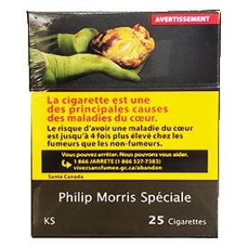 Cigarette Philip Morris Spéciale KS 25