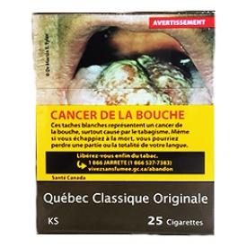 Cigarette Québec Originale KS 25