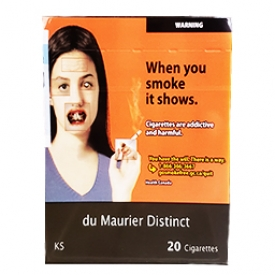 Cigarette du Maurier Distinct KS 20