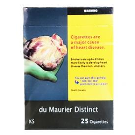 Cigarette du Maurier Distinct KS 25
