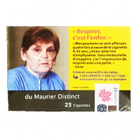Cigarette du Maurier Distinct RS 25